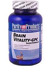 Purity Products Brain Vitality-GPC Review