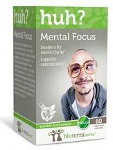 Bioterra Herbs Mental Focus Huh? Review